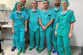 El Hospital de Manacor lleva a cabo la primera reconstrucción mamaria tras un cáncer