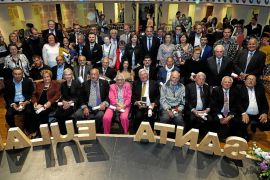 Santa Eulària distingue a los regidores de la etapa democrática