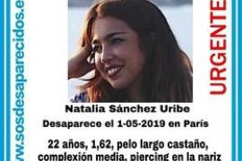 Buscan a una estudiante de Mallorca desaparecida en París, donde está de Erasmus