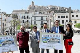 La ONCE dedicará a Ibiza un cupón por el aniversario como Patrimonio Mundial