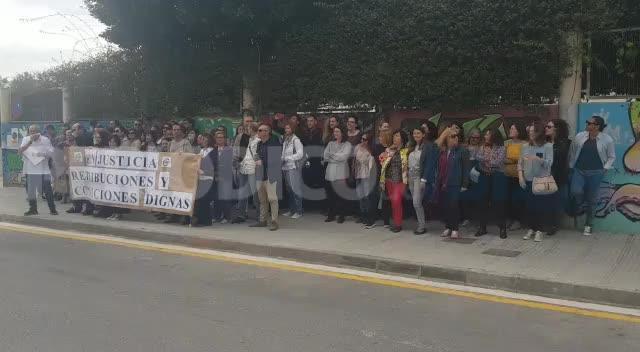 """Trabajadores de Justicia de Ibiza exigen la equiparación salarial ante """"desigualdades insostenibles e injustas"""""""