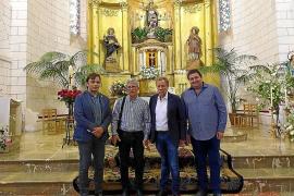 Restauración del retablo de la iglesia de Son Carrió