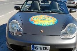 Denuncian el robo de un Porsche y una furgoneta del bar Can Jordi