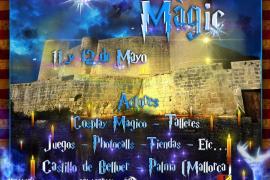 El Castell de Bellver se convierte por unos días en el castillo de Harry Potter