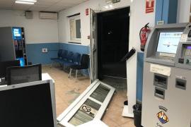 La Guardia Civil investiga el asalto a la ITV de Ibiza