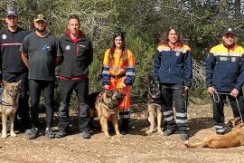 Protección Civil de Formentera se prepara para crear su propia unidad canina de rescate
