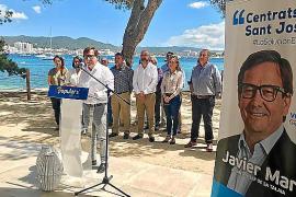 Javier Marí (PP) hará un plan para Cala de Bou «que no contemple solo la costa»