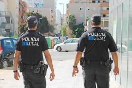 La Policía Local de Ibiza detuvo a tres personas por violencia machista
