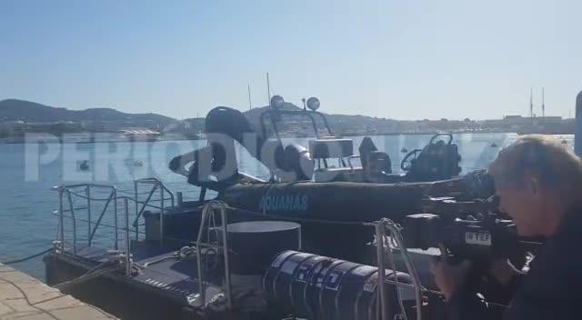 Vigilancia Aduanera intercepta un velero en Ibiza con 5 toneladas de hachís