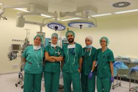 Primera reconstrucción mamaria tras una mastectomía en Can Misses