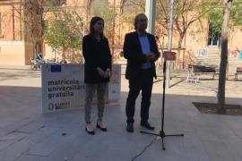 Alicia Homs y Martí March, candidatos del PSIB-PSOE el 26 de mayo