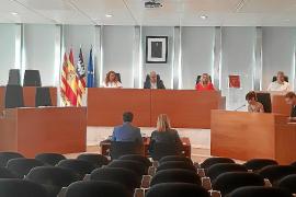 Mitin progresista en el Consell