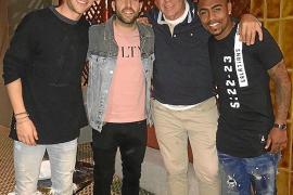 Futbolistas del Barça en Ibiza