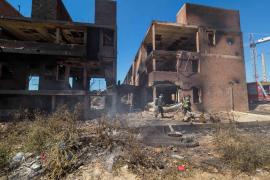 Rafa Ruiz pretende declarar el edificio 'okupado' de es Viver como «ruinoso» porque «ha quedado muy tocado»