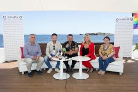 Boris Izaguirre y Topacio Fresh en la quinta edición del Ibiza Gay Pride