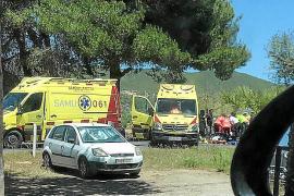 Herido grave un motorista en Santa Eulària