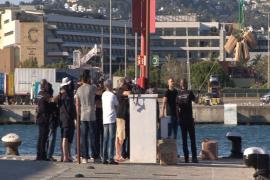 El juez envía a prisión a los tres tripulantes del velero llegado a Ibiza con 5 toneladas de hachís