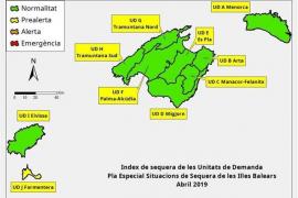 Las reservas hídricas de Ibiza caen hasta el 53% en abril