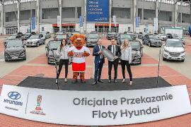 Hyundai entrega 112 coches a la Copa Mundial Sub-20 de la FIFA Polonia 2019