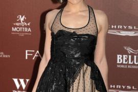 Milla Jovovich en Londres.