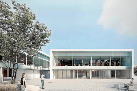 Edificio polivalente donde se ubicará el cuartel de la Guardia Civil