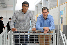 Los doctores Joan Rosselló y Francesc Oliver.