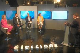 Orden y disciplina en el debate de candidatos a gobernar Santa Eulària