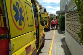 Detenido un hombre tras herir a otro con un hacha en Ibiza