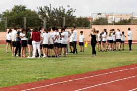 La cursa solidaria en el colegio sa Real, en imágenes. Fotos: Daniel Espinosa