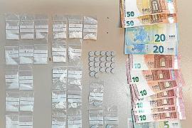 La Policía Local de Sant Josep detiene a un hombre con dosis de cocaína, éxtasis y ketamina