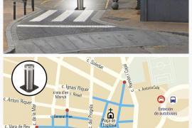 Joan Torres (PxE) propone instalar pivotes en las calles peatonales de Sant Antoni