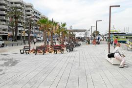 Reabierto el paseo de las barcas de Formentera