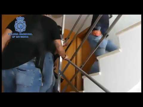 Vídeo de la detención en es Soto de los detenidos por los incendios de Ibiza
