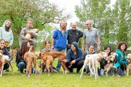Adiestradores europeos trabajan la educación de los podencos ibicencos del centro Can Dog