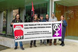 La CGT pide la aplicación «inmediata» del Decreto de Emergencia Habitacional