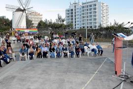 El candidato de PSOE-Reinicia a la alcaldía de Sant Antoni votará en Vila