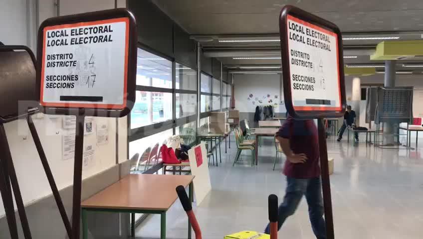 Los colegios electorales de las Pitiusas se preparan para el 26-M