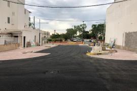 Finalizan las mejoras en distintas calles de Can Negre, junto a Pompas Fúnebres
