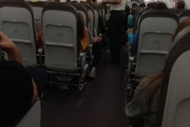 Unos 80 niños, encerrados durante horas en un avión que se dirigía a Palma