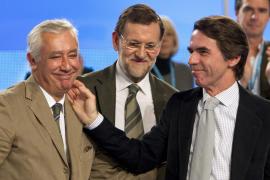 Rajoy sitúa a Arenas, Pons y Floriano en el núcleo duro del PP