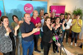 GxF pierde la mayoría absoluta y empata a seis consellers con Sa Unió