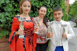 Nuevo éxito de los jóvenes cantantes ibicencos en el festival Alborada rusa