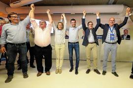 El PP gana 954 votos y el PSOE 792 en el global de la isla respecto a 2015