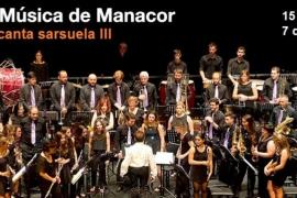 La Banda Municipal de Música protagoniza 'La Banda canta zarzuela III' en Manacor