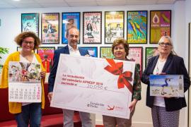 El calendario solidario de la Fundación Pacha recauda más de 20.000 euros para Apneef