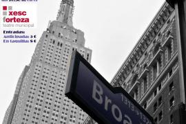 'Viaje a Broadway' en el Teatre Xesc Forteza