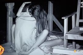 Violeta y Fabio mantienen relaciones sexuales en Supervivientes