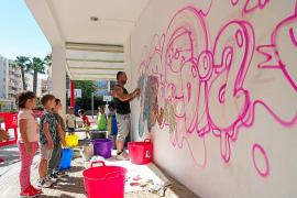 Medusa Art Festival, en el CEIP Portal Nou