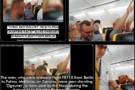 Alemanes borrachos en un vuelo procedente de Berlín