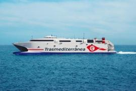 Trasmediterránea cubrirá la línea Gandía-Ibiza-Palma con un buque de alta velocidad